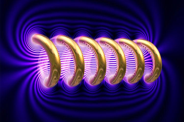 دانلود نمونه سوالات استخدامی درس الکترومغناطیس – مهندسی برق